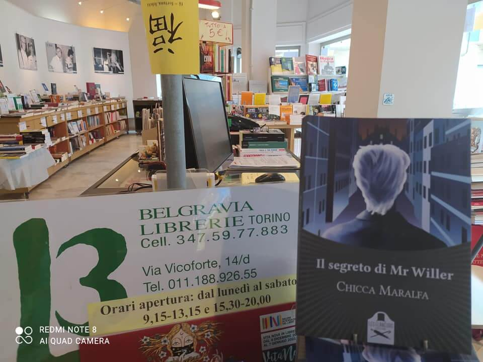Libreria Belgravia Mr Willer